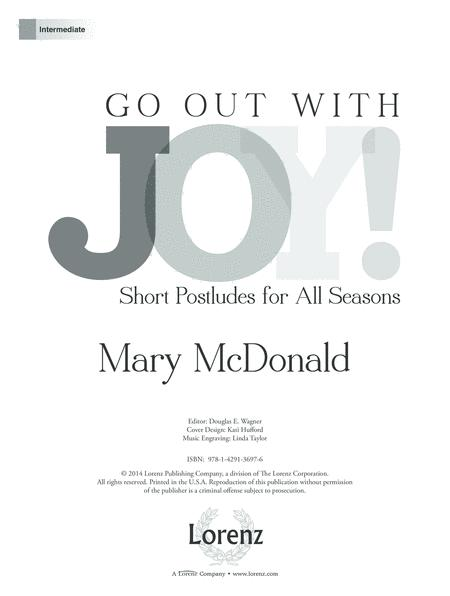 Go Out With Joy!
