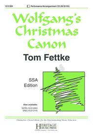 Wolfgang's Christmas Canon