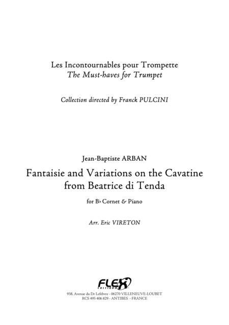 Fantaisie and Variations on the Cavatina from Beatrice di Tenda