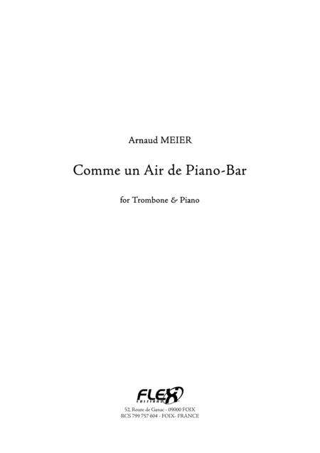Comme un Air de Piano-Bar