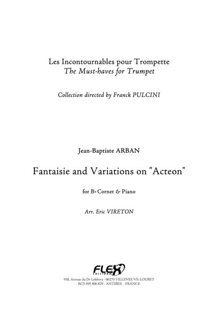 Fantaisie and Variations on