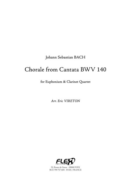 Chorale from Cantata BWV 140