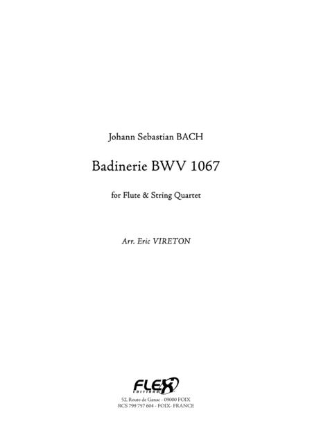 Badinerie BWV 1067