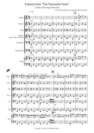 Dance of the Sugar Plum Fairy (fantasia from Nutcracker) for String Orchestra