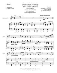 CHRISTMAS JOY MEDLEY (Sing-A-Long with Bb Clarinet and Piano)