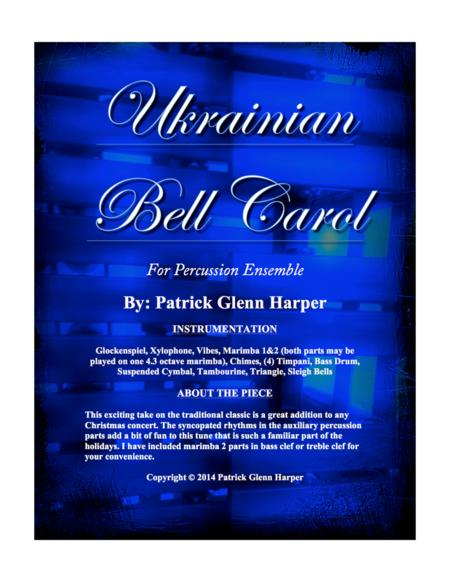 Ukrainian Bell Carol - for Percussion Ensemble