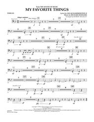 My Favorite Things (from The Sound of Music) - Timpani
