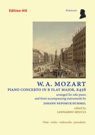 Piano concerto in B flat major