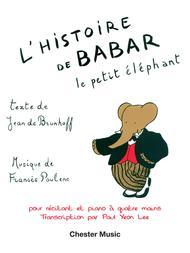 L'Histoire de Babar, le petit elephant