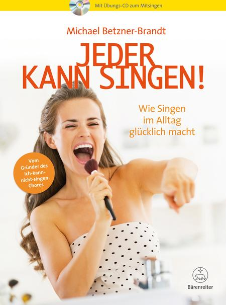 Jeder kann singen! (With a practice CD to sing along)
