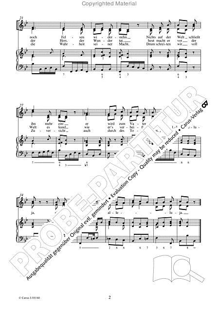 Das Grab Ist Leer By Michael Haydn (1737-1806) - Full
