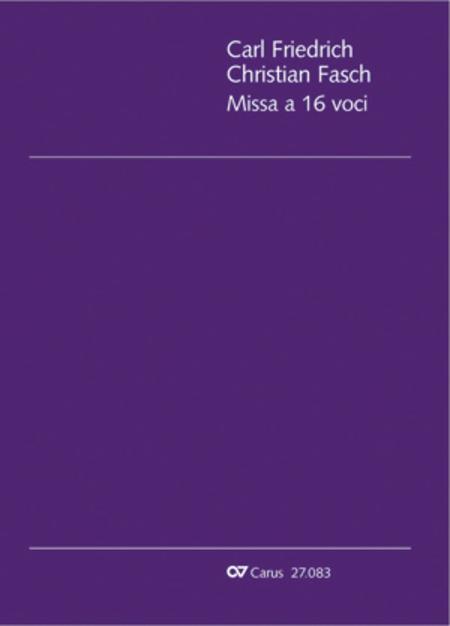 Mass for 16 voices (Missa a 16 voci)