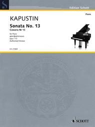 Sonata No. 13 op. 110