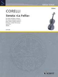 Sonata La Follia D Minor Op. 5/12
