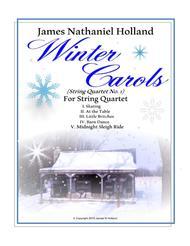 Winter Carols String Quartet No 1 in 5 Movements
