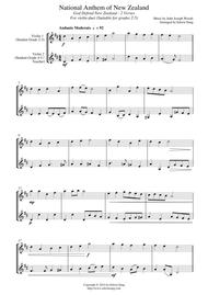 full version of nz national anthem
