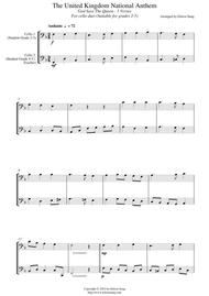 National Anthem of the United Kingdom (for cello duet, suitable for grades 2-5)