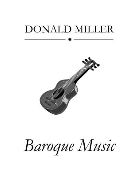 Baroque Music for Guitar Ensemble
