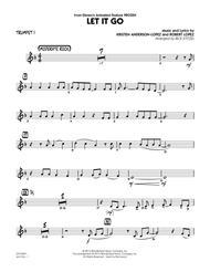 let it go frozen trumpet sheetmusic