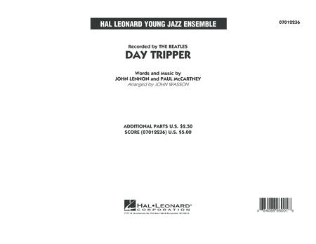 Day Tripper - Conductor Score (Full Score)