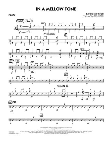 In a Mellow Tone - Drums