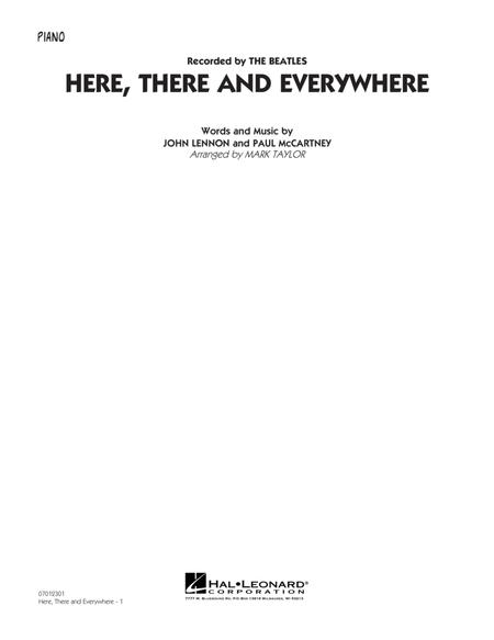 Here, There and Everywhere - Piano