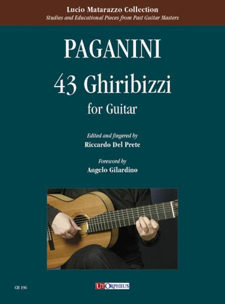 43 Ghiribizzi for Guitar