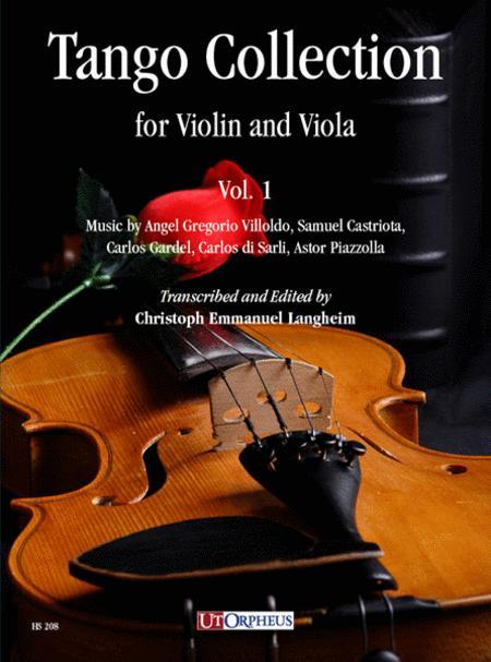 Tango Collection for Violin and Viola, Vol. 1