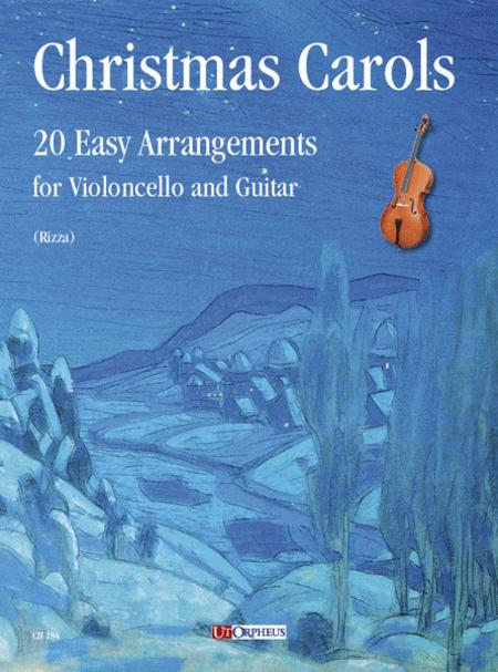 Christmas Carols. 20 Easy Arrangements for Cello and Guitar