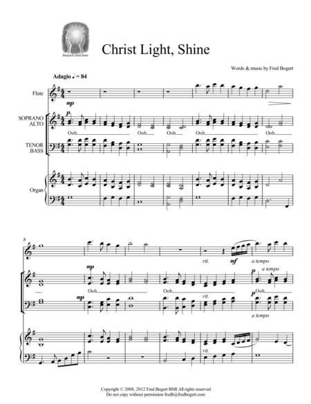 Christ Light, Shine