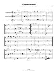 Stephen Foster Salute (Medley of Stephen Foster music set for mixed saxophone trio)
