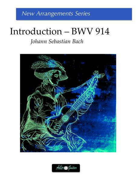 BWV 914 Toccata - Introduction