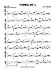 Yardbird Suite - C Solo Sheet