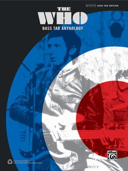 the who bass tab anthology pdf