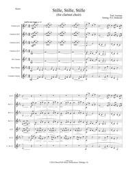 Stille, Stille, Stille (Still, Still, Still) -Traditional German Christmas Carol (set for clarinet choir)