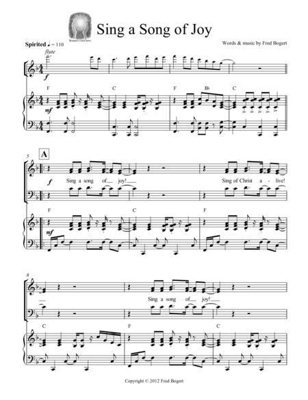 Sing a Song of Joy / Ode to Joy