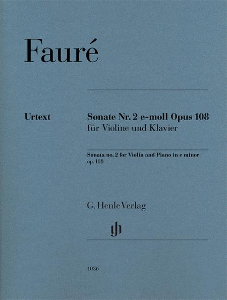 Violin Sonata No. 2 in E minor, Op. 108