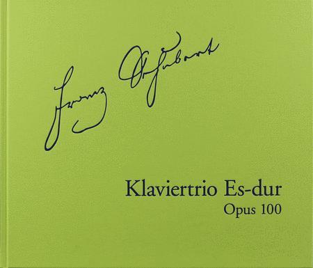 Piano Trio in E-Flat Major, Op. 100 D929