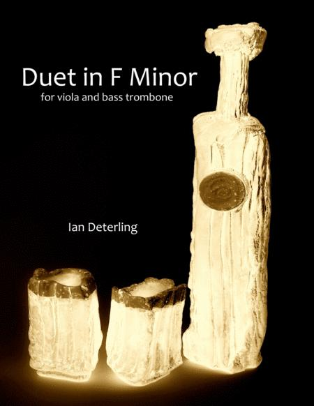 Duet in F Minor (for Viola and Bass Trombone)