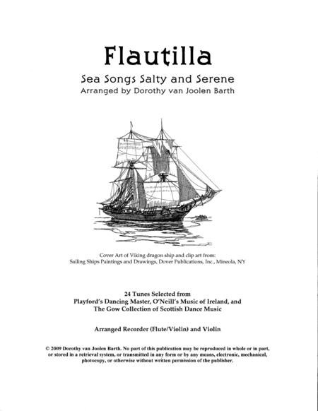 Flautilla - Sea Songs Salty and Serene (Complete Duo Anthology)