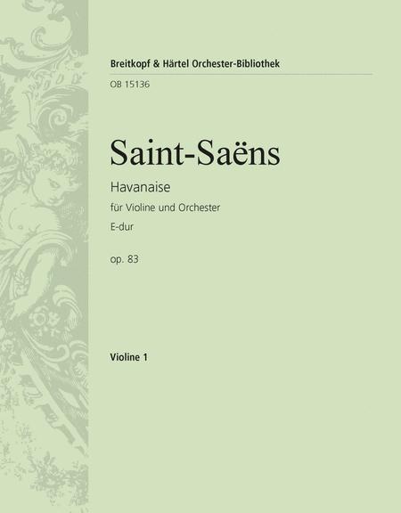 Havanaise in E major Op. 83