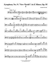 Dvorak Symphony No. 9, New World, Movement I - Trombone in Bass Clef 2 (Transposed Part), Op.95
