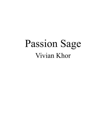 Passion Sage (piano)