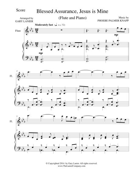 BLESSED ASSURANCE (Flute/Piano and Flute Part)