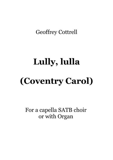 Lully, lulla (Coventry Carol)