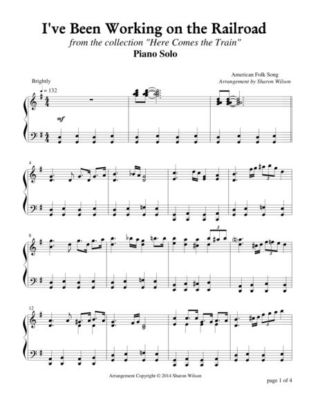 I've Been Working on the Railroad (Piano Solo)