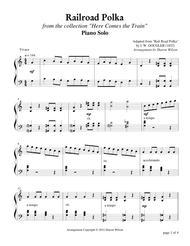 Railroad Polka (Piano Solo)