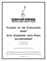 Leaning on the Everlasting Arms - Alto Saxophone