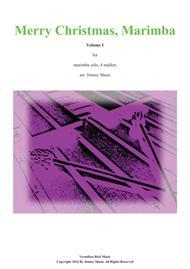 Merry Christmas, Marimba Volume I (9 marimba solos)
