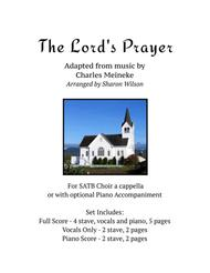 The Lord's Prayer (for SATB a cappella choir with optional piano accompaniment)